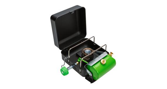 Optimus Hiker + - Réchaud à essence - noir/vert